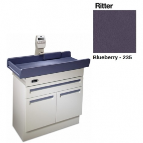 Midmark - Mesa de exploración pediatrica 640 con báscula color blueberry
