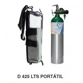 Oxiplus - Equipo completo de oxígeno 425L - tipo D