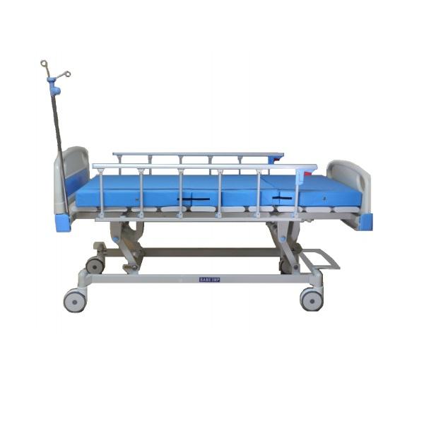 Bame cama para hospital mec nica de 3 posiciones con ruedas - Ruedas para cama ...