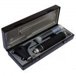 Riester - Otoscopio fibra óptica L2 LED 3.5V / 120V con mango para enchufe