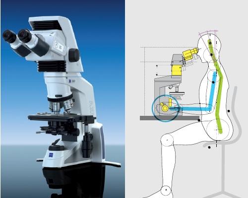 Carl Zeiss Microscopio Binocular Modelo Axio Lab A1