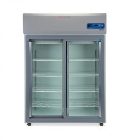 Thermo Scientific - Refrigerador para laboratorio de dos puertas de vidrio deslizables