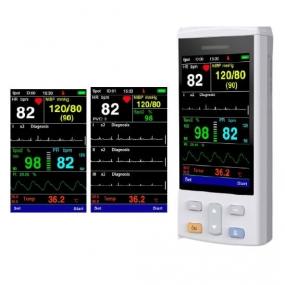 Luabfe - Monitor de signos vitales Mini Balam con ECG