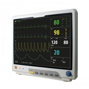 Xignal - Monitor de paciente con capnografo multiparametrico, signos vitales,  XIGNAL 15
